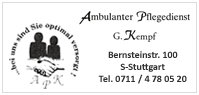 Ambulanter Pflegedienst G. Kempf